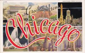 Illinois Greetings From Chicago