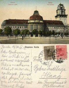 serbia, SENTA ZENTA, Varoshaza, Town Hall (1930) Postcard