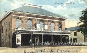 Town Hall Perry NY 1914