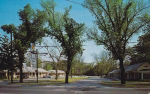 Hampton Park Motel, Camden, South Carolina, 1961 PU