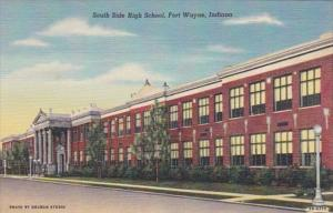 South Side High School Fort Wayne Indiana Curteich