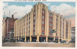 SPOKANE , Washington, PU-1930 ; City Ramp Garage