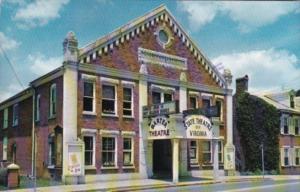 Virginia Abingdon The Barter Theatre