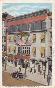 The Odenbach Hofbrauhaus Restaurant - Rochester NY, New York - pm 1922 - WB