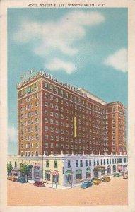 North Carolina Winston Salem Hotel Robert E Lee Albertype