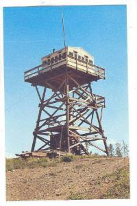British Columbia Forest Service, Bull Lookout Tower north of Williams Lake, C...