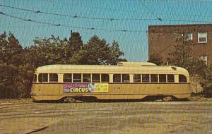 Trolley Philadelphia PCC #2582 On Route 50 31 May 1969