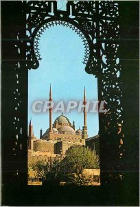 Postcard Modern Cairo The Mosque Mohamed Aly