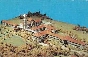 Model of Abbey and the Seminary of Christ the King , MISSION CITY , B.C. , Ca...