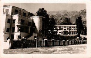 PC CPA IRAN, TEHERAN, DARBAND HOTEL, PHOTO POSTCARD (b4994)