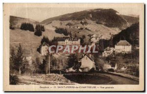 Old Postcard Dauphine Saint Pierre de Chartreuse Vue Generale