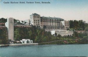 Castle Harbour Hotel, Tuckers Town, Bermuda, early postcard, unused