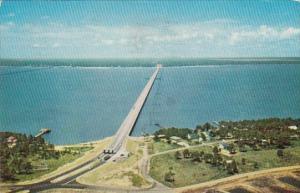 Bay Bridge Mississippi Gulf Coast Saint Louis Mississippi 1964