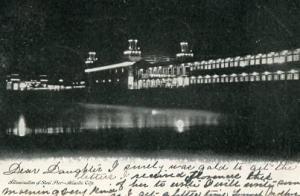 NJ - Atlantic City, Illumination of the Steel Pier