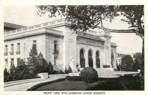 Washington, DC, Pan American Union, Front View, Unused Vintage Postcard d1895