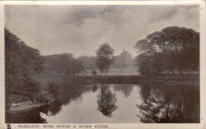 Hamilton, UK, PU 1900-10s ; Ross House & River Clyde