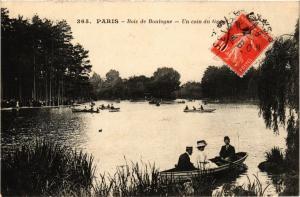 CPA PARIS 16e-Bois de Boulogne-Un coin du Grand Lac (325024)