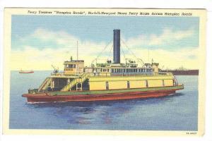 Ferry Streamer Hampton Roads, Norfolk-Newport News Ferry Route Across Hampt...