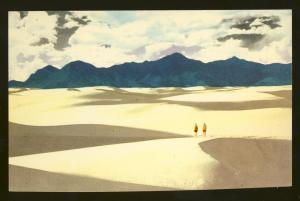 New Mexico/NM Postcard, The White Sands National Monument