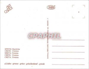 Postcard Modern Crete (Greece) Rethymno Fortetza Silence and History