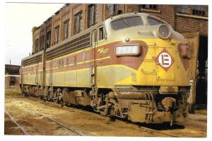 Erie Lackawanna Railroad No 7134 EL F-7A Maybrook Yard NY