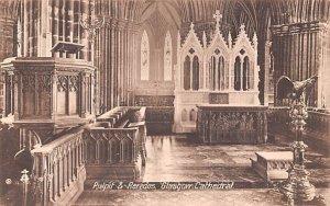 Pulpit & Reredos, Glasgow Cathedral Scotland, UK Unused