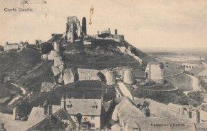 CORFE CASTLE , Dorset , England , 1904