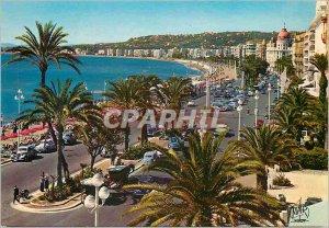 Postcard Modern Reflections of the azure coast of Saint Raphael (Var) Boats