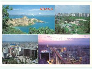 Adana Turkiye Turkey Kentten dort ayn gorunum Aerial View   Postcard  # 7695