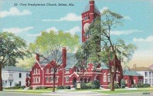 Alabama Selma First Presbyterian Church Curteich