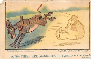 These are the magics Donkey kicking man Novelty Unused