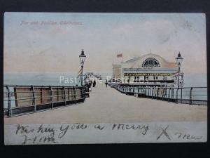 CLEETHORPES Pier & Pavilion PIER DANCING & ENTERTAINMENT c1905 by J.W. Julian