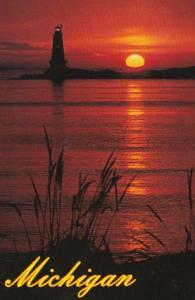 Michigan Beautiful Michigan Sunset 1998