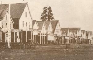 Truckee California Railroad in 1860 Old Photo American Postcard