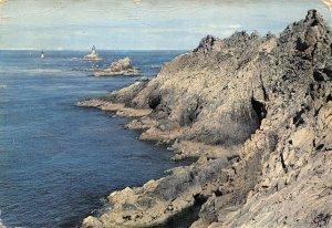 France Pointe du Raz Finistere Sea Lighthouse Postcard