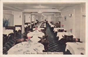 New York Albany Dining Room Wellington Hotel