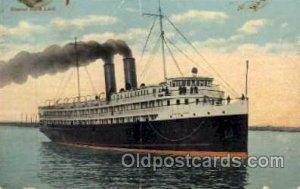 S.S.North Land, Yarmouth, N.S. Steam Boat Steamer Ship Ships Postcard Postcar...