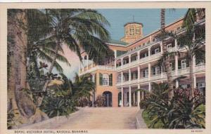 Bahamas Nassau Royal Victoria Hotel Curteich