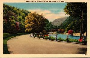 Ohio Greetings From Wakeman