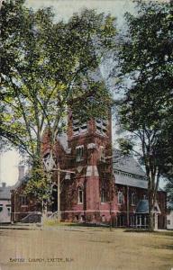 Baptist Church Exeter New Hampshire 1914