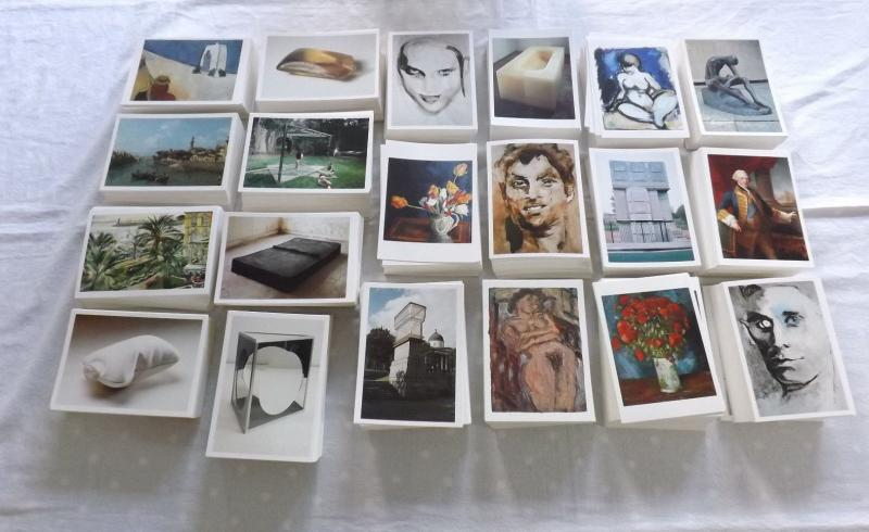 120 Different Brand New Art Photographic Postcards by Famous Artists PC471