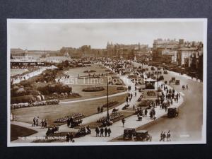 Lancashire: SOUTHPORT The Promenade c1931 RP Postcard by Valentine's