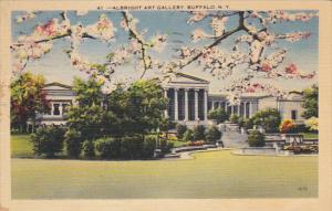 Albright Art Gallery Buffalo New York 1946
