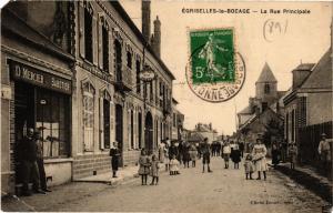 CPA EGRISELLES-le-BOCAGE - La Rue Principale (357733)