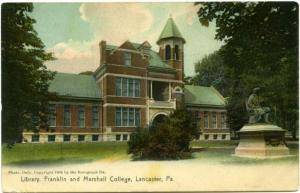 The Library at Franklin & Marshall College - Lancaster, PA Pennsylvania DB