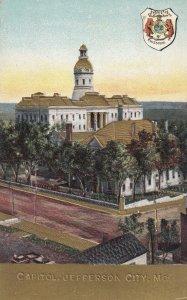 JEFFERSON CITY, Missouri, 1900-1910's; Capitol