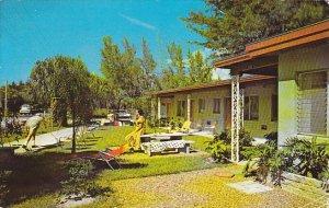 Shuffleboard Shell Motel Apartments Indian Rocks Beach Florida 1966