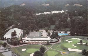 White Sulphur Springs WV~Birdseye Greenbrier Golf Course~Tennis Club~1980 PC
