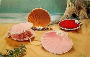 Advertising Postcard,National Handcraft Institute,The Velvet Touch, Jewelry Tray