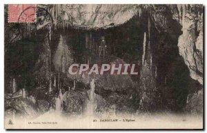Old Postcard The Church Dargilan